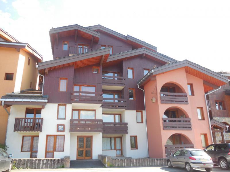 Vermietung Ski Urlaub Montchavin La Plagne Residence Trompe L Oeil