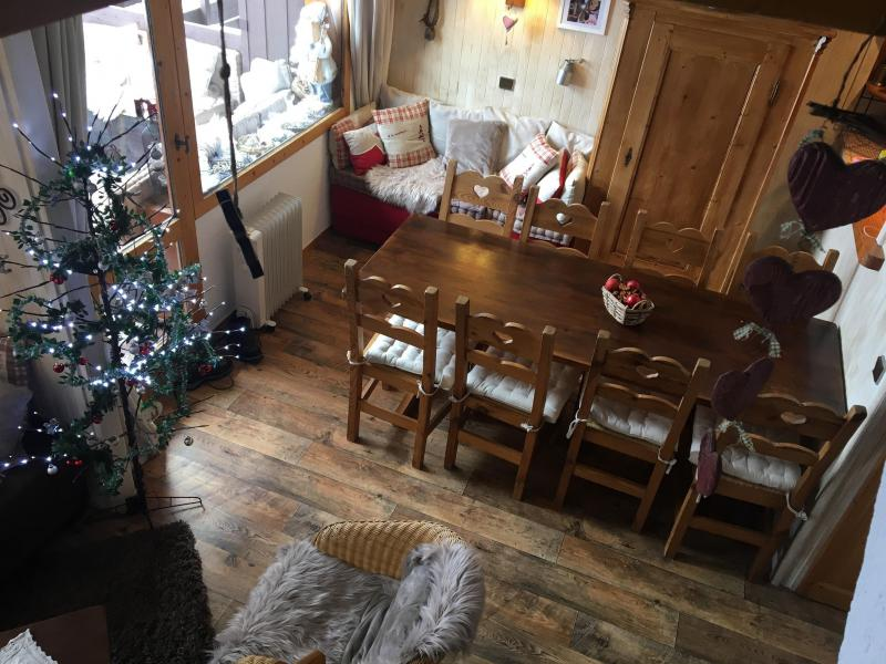 Ski verhuur Appartement duplex 4 kamers 9 personen (052) - Résidence Trompe l'Oeil - Montchavin La Plagne - Appartementen