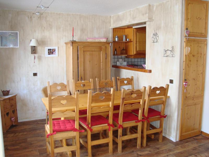 Ski verhuur Appartement duplex 4 kamers 9 personen (052) - Résidence Trompe l'Oeil - Montchavin La Plagne - Tafel