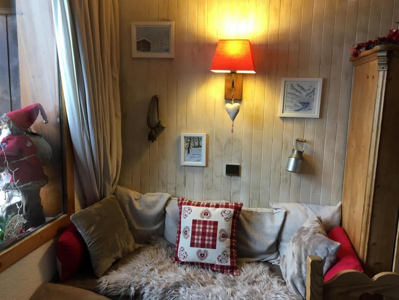 Ski verhuur Appartement duplex 4 kamers 9 personen (052) - Résidence Trompe l'Oeil - Montchavin La Plagne - Zitbank