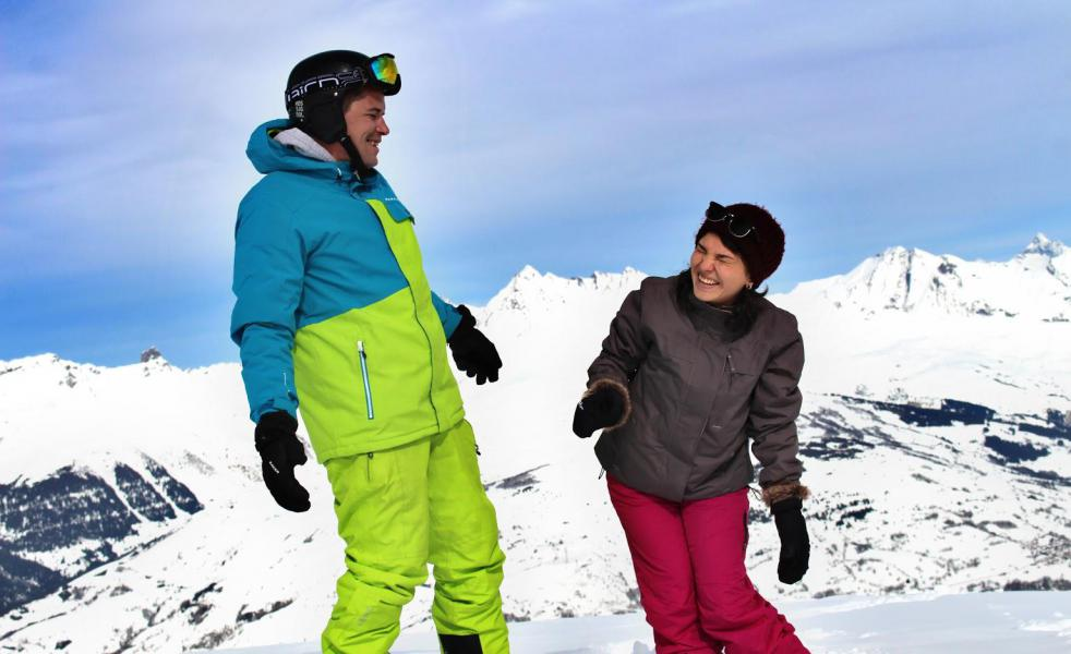 Location au ski VVF Villages l'Eterlou - Montchavin La Plagne - Extérieur hiver