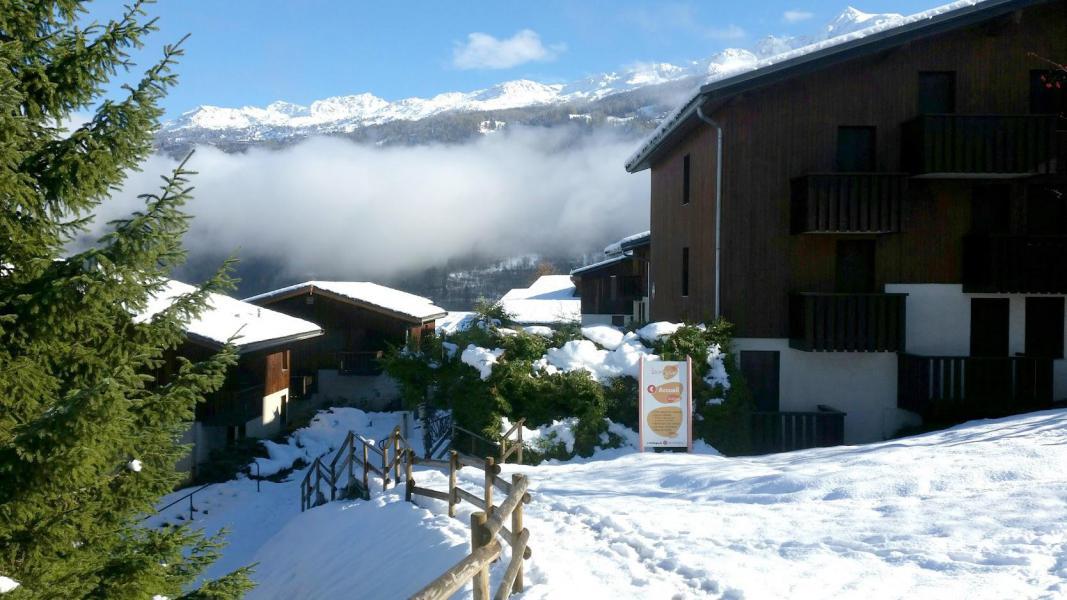 Vacances en montagne VVF Villages le Balcon du Mont-Blanc - Montchavin La Plagne - Extérieur hiver
