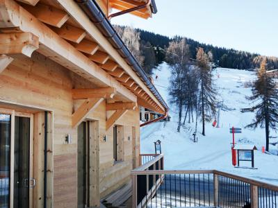 Rent in ski resort Chalet Paradise Star - Montchavin La Plagne - Winter outside