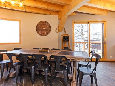 Rent in ski resort Chalet Paradise Star - Montchavin La Plagne - Dining area