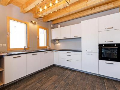 Rent in ski resort Chalet Paradise Star - Montchavin La Plagne - Kitchen