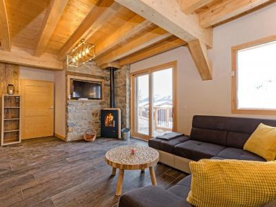Rent in ski resort Chalet Paradise Star - Montchavin La Plagne - Living room