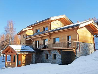 Rent in ski resort Chalet Ski Dream - Montchavin La Plagne - Winter outside