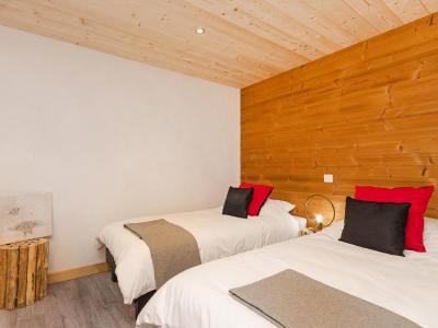 Rent in ski resort Chalet Ski Dream - Montchavin La Plagne - Bedroom