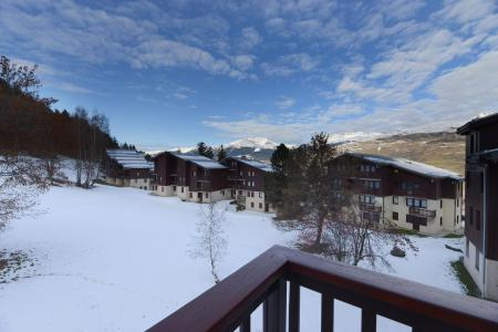 Rent in ski resort Divisible studio 4 people (12) - La Résidence le Crey - Montchavin La Plagne - Winter outside