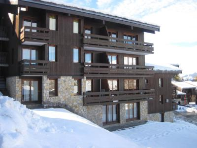 Rent in ski resort La Résidence le Damier - Montchavin La Plagne - Winter outside