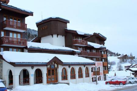 Rent in ski resort La Résidence le Dé 4 - Montchavin La Plagne - Winter outside