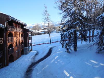 Location au ski Studio 4 personnes (032) - La Résidence les Pentes - Montchavin - La Plagne