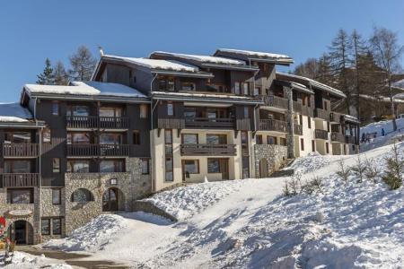 Location au ski La Résidence les Pentes - Montchavin La Plagne - Extérieur hiver