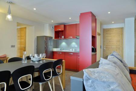 Аренда на лыжном курорте Апартаменты 4 комнат 8 чел. (523) - Résidence Backgammon - Montchavin La Plagne