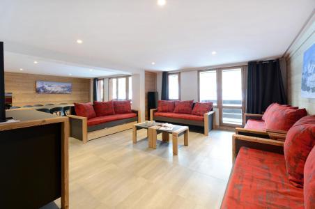 Аренда на лыжном курорте Апартаменты 7 комнат 16 чел. (408) - Résidence Backgammon - Montchavin La Plagne