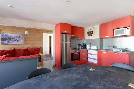 Аренда на лыжном курорте Апартаменты 4 комнат 8 чел. (213) - Résidence Backgammon - Montchavin La Plagne