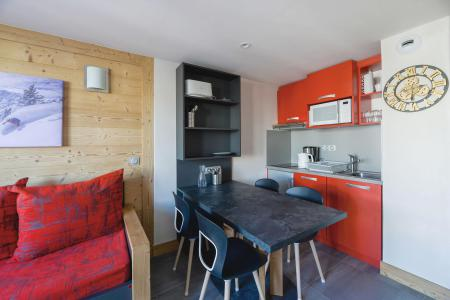 Аренда на лыжном курорте Апартаменты 2 комнат 5 чел. (105) - Résidence Backgammon - Montchavin La Plagne