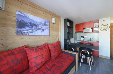 Аренда на лыжном курорте Апартаменты 2 комнат 5 чел. (201) - Résidence Backgammon - Montchavin La Plagne