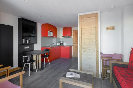 Аренда на лыжном курорте Квартира студия для 2 чел. (7) - Résidence Backgammon - Montchavin La Plagne