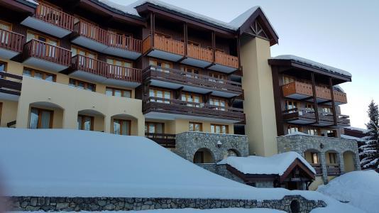 Location au ski Studio 4 personnes (112) - Résidence Bilboquet - Montchavin La Plagne - Extérieur hiver