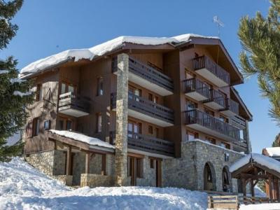 Location au ski Studio cabine 3 personnes (018) - Résidence la Boussole - Montchavin - La Plagne - Extérieur hiver