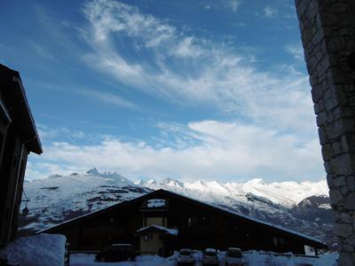 Location au ski Studio 2 personnes (001) - Résidence la Boussole - Montchavin - La Plagne - Extérieur hiver