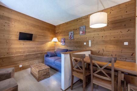 Location au ski Studio cabine 5 personnes (039) - Résidence la Clé - Montchavin La Plagne - Séjour