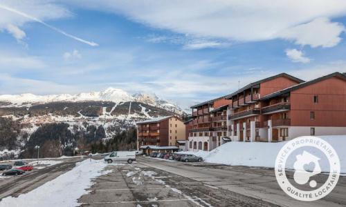 Location au ski Appartement 2 pièces 5 personnes (Sélection 33m²) - Résidence la Marelle et Le Rami - Maeva Home - Montchavin La Plagne - Extérieur hiver