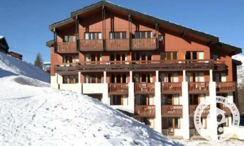 Location au ski Appartement 2 pièces 5 personnes (Confort 30m²) - Résidence la Marelle et Le Rami - Maeva Home - Montchavin La Plagne - Extérieur hiver