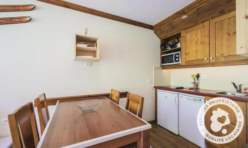 Location au ski Appartement 2 pièces 4 personnes (Confort ) - Résidence la Marelle et Le Rami - Maeva Home - Montchavin La Plagne - Extérieur hiver