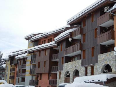 Location au ski Appartement 3 pièces 6 personnes (046) - Résidence la Traverse - Montchavin La Plagne - Extérieur hiver