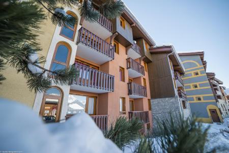 Vacances en montagne Studio 4 personnes (006) - Résidence la Traverse - Montchavin La Plagne - Extérieur hiver