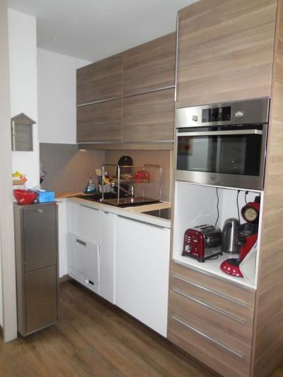Location au ski Appartement 2 pièces 4 personnes (102) - Résidence la Traverse - Montchavin - La Plagne - Kitchenette