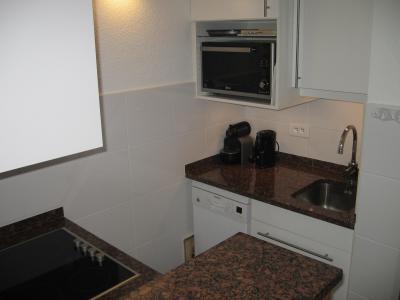 Location au ski Appartement 3 pièces 6 personnes (046) - Résidence la Traverse - Montchavin La Plagne - Kitchenette