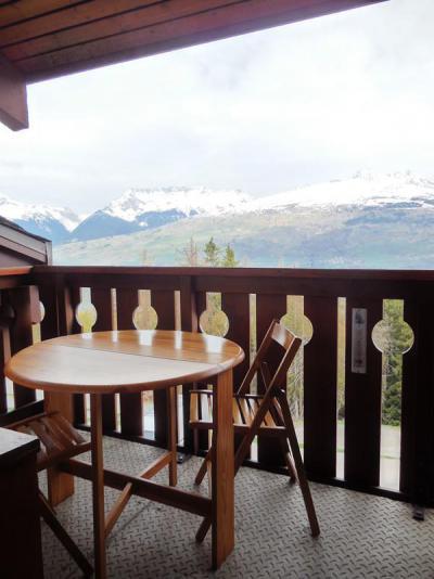Location au ski Studio 4 personnes (060) - Résidence la Traverse - Montchavin - La Plagne - Balcon
