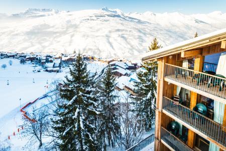 Location au ski Résidence Lagrange les 3 Glaciers - Montchavin La Plagne - Extérieur hiver