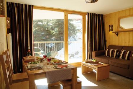 Location au ski Résidence Lagrange les 3 Glaciers - Montchavin La Plagne - Coin repas