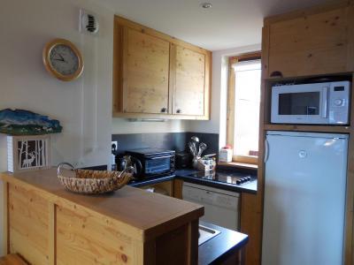 Location au ski Appartement 3 pièces 6 personnes - Résidence le Boulier - Montchavin La Plagne - Cuisine