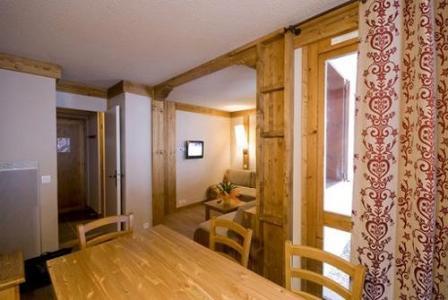 Location au ski Appartement 2 pièces 4-5 personnes - Residence Le Chalet De Montchavin - Montchavin - La Plagne - Coin repas