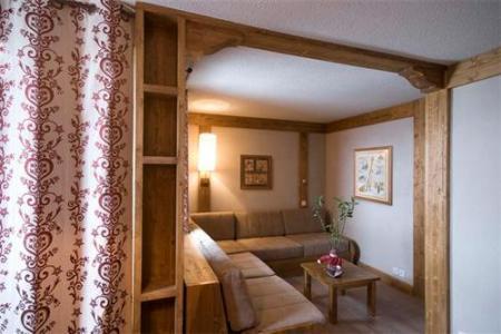 Location au ski Appartement 2 pièces 4-5 personnes - Residence Le Chalet De Montchavin - Montchavin - La Plagne - Séjour