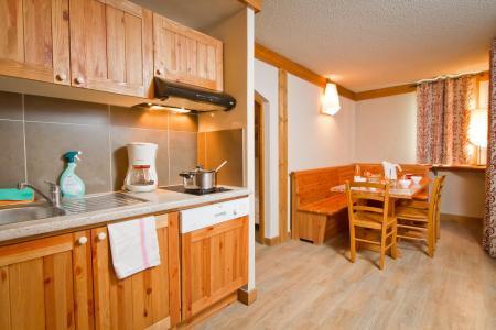 Rent in ski resort Résidence le Chalet de Montchavin - Montchavin La Plagne - Kitchen