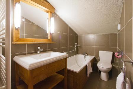 Location au ski Residence Le Chalet De Montchavin - Montchavin - La Plagne - Salle de bains