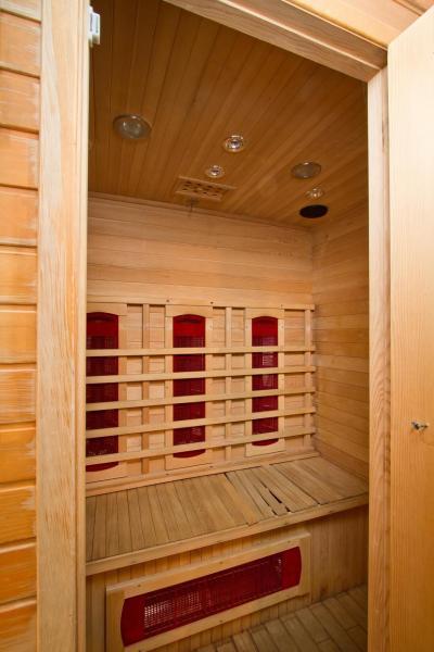 Location au ski Residence Le Chalet De Montchavin - Montchavin - La Plagne - Sauna