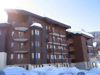 Location au ski Appartement 2 pièces 6 personnes (304) - Résidence le Dé 3 - Montchavin La Plagne - Extérieur hiver