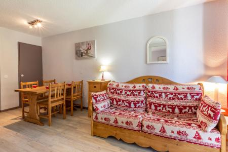 Location au ski Appartement 2 pièces 4 personnes (008) - Résidence le Dé 3 - Montchavin La Plagne - Banquette-lit