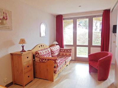 Location au ski Appartement 2 pièces 4 personnes (008) - Résidence le Dé 3 - Montchavin La Plagne - Séjour