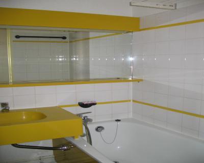 Location au ski Studio coin montagne 4 personnes (202) - Résidence le Dé 3 - Montchavin La Plagne - Salle de bains