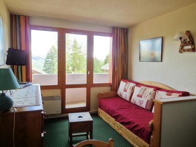 Location au ski Studio coin montagne 4 personnes (3202) - Résidence le Dé 3 - Montchavin - La Plagne - Séjour