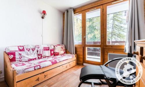 Location au ski Studio 4 personnes (Sélection 27m²) - Résidence le Hameau du Sauget - Maeva Home - Montchavin La Plagne - Extérieur hiver