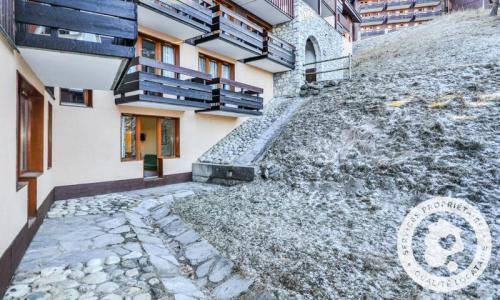 Location au ski Appartement 2 pièces 5 personnes (Budget 22m²) - Résidence le Hameau du Sauget - Maeva Home - Montchavin La Plagne - Extérieur hiver